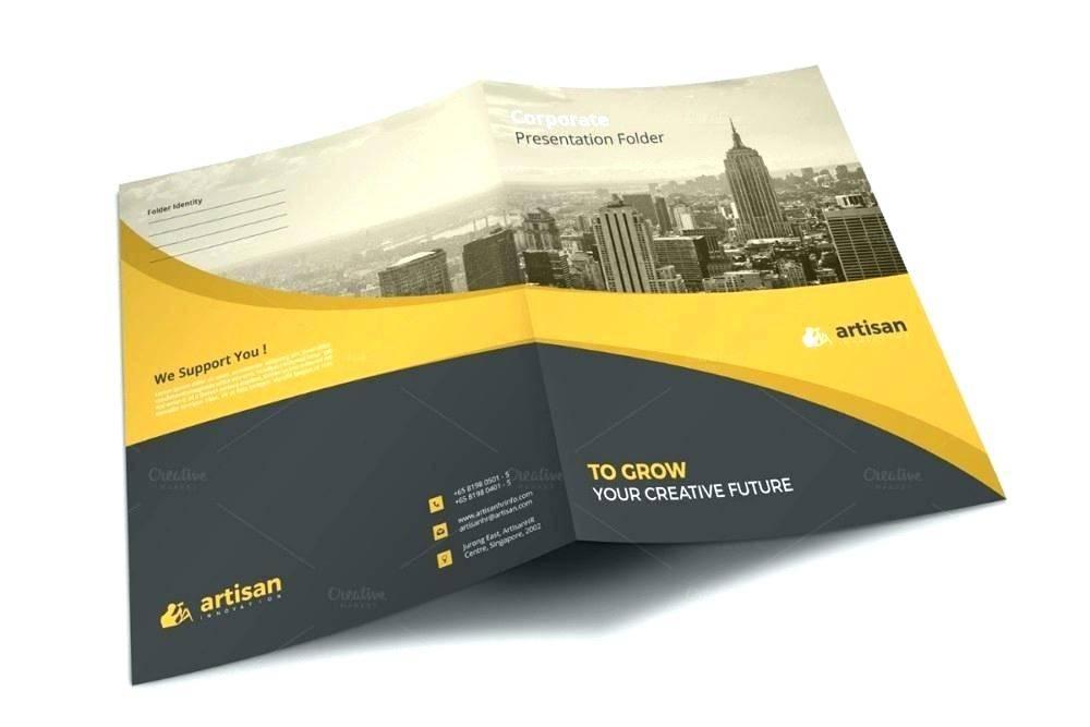 Presentation Folder Template Free Download