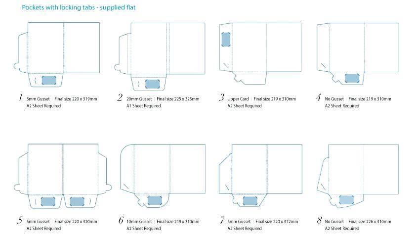 Presentation Folder Template Photoshop
