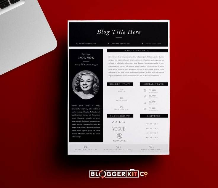Press Kit Template Download Free
