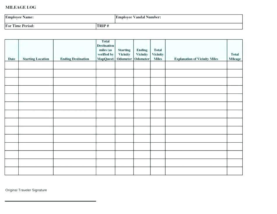 Preventive Maintenance Schedule Form