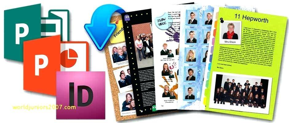 Primary School Yearbook Templates