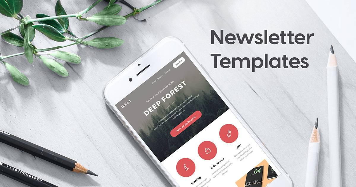 Print Newsletter Templates