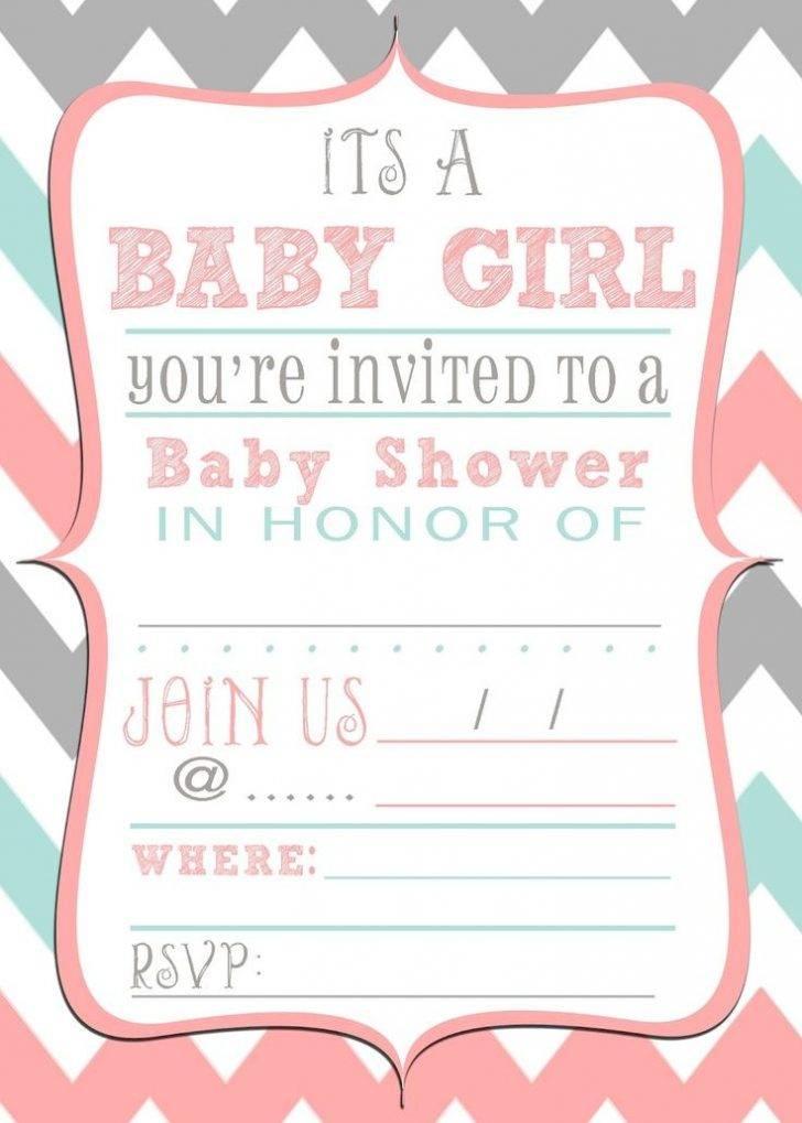 Printable Baby Shower Invitation Templates