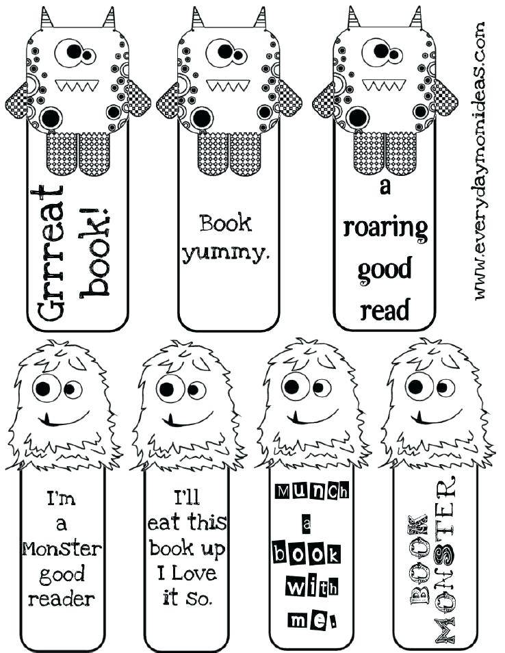 Printable Christian Bookmark Template