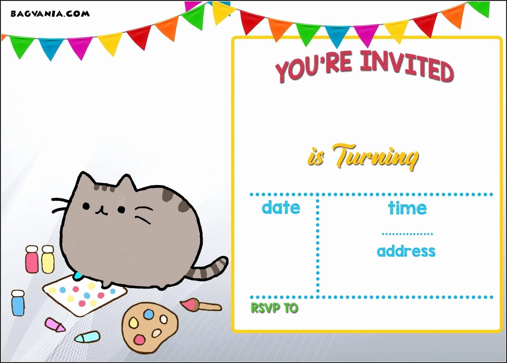 Printable Invite Templates