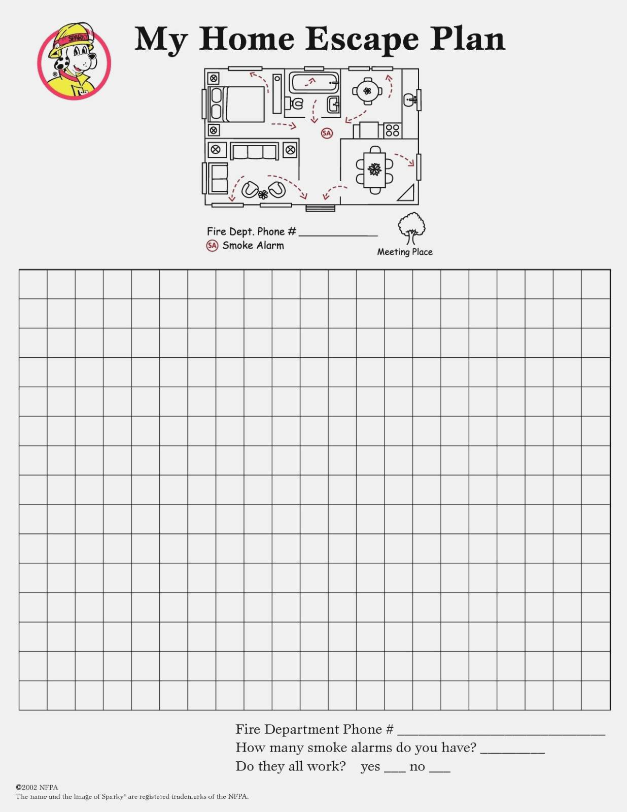 Printable Nfpa Label Template