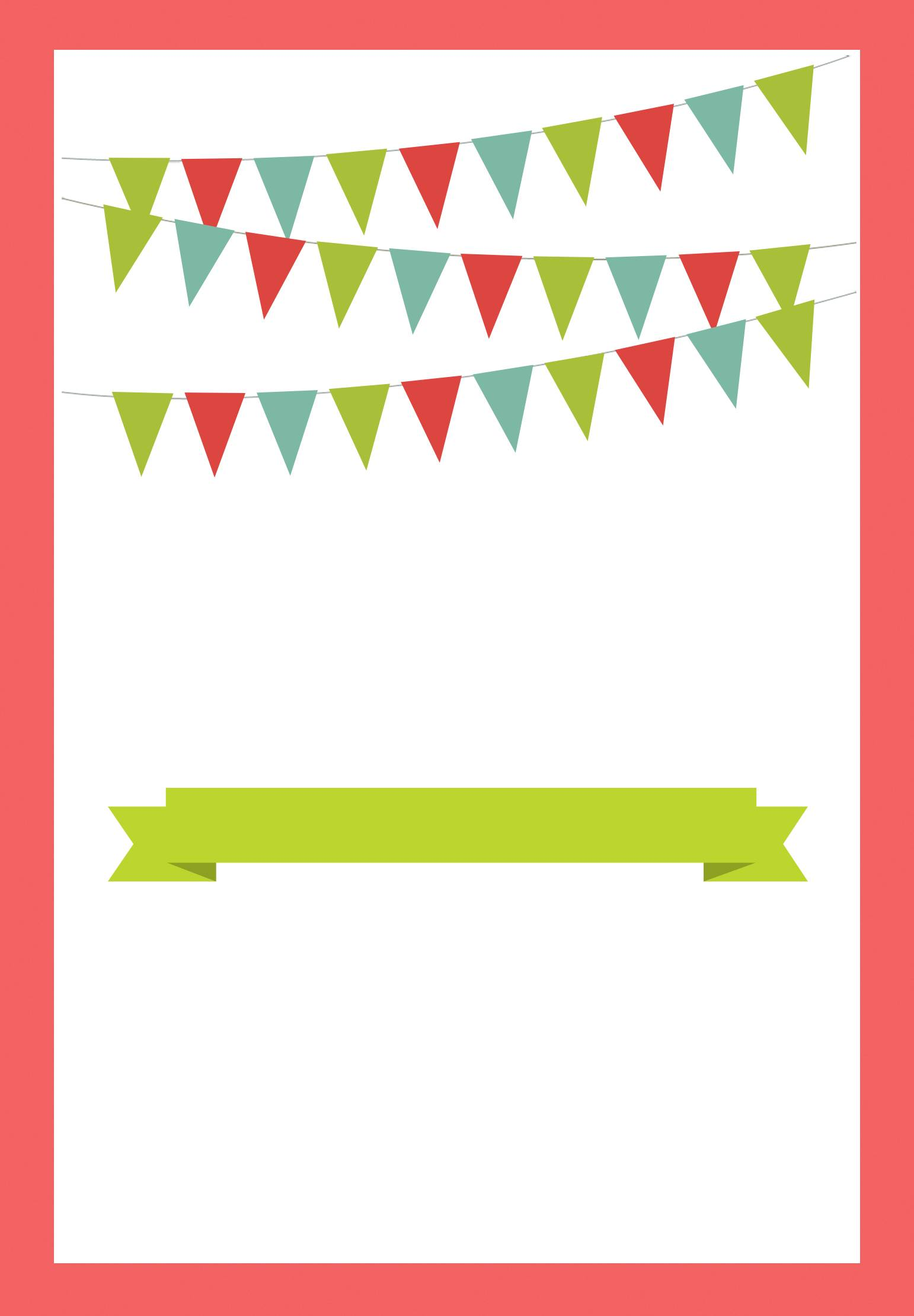 Printable Party Templates Free