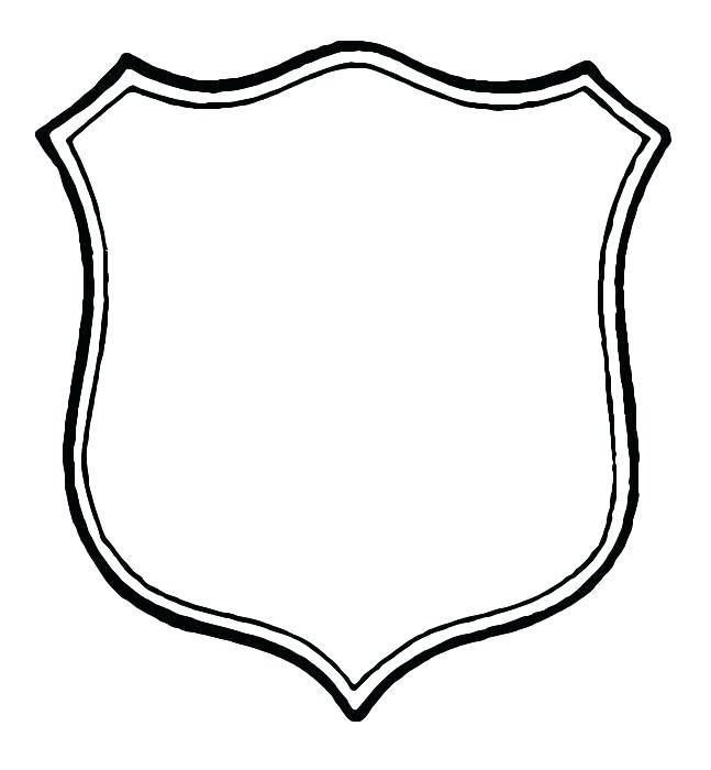 Printable Sheriff Badge Template