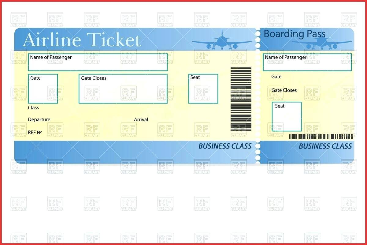 Printing Job Ticket Template