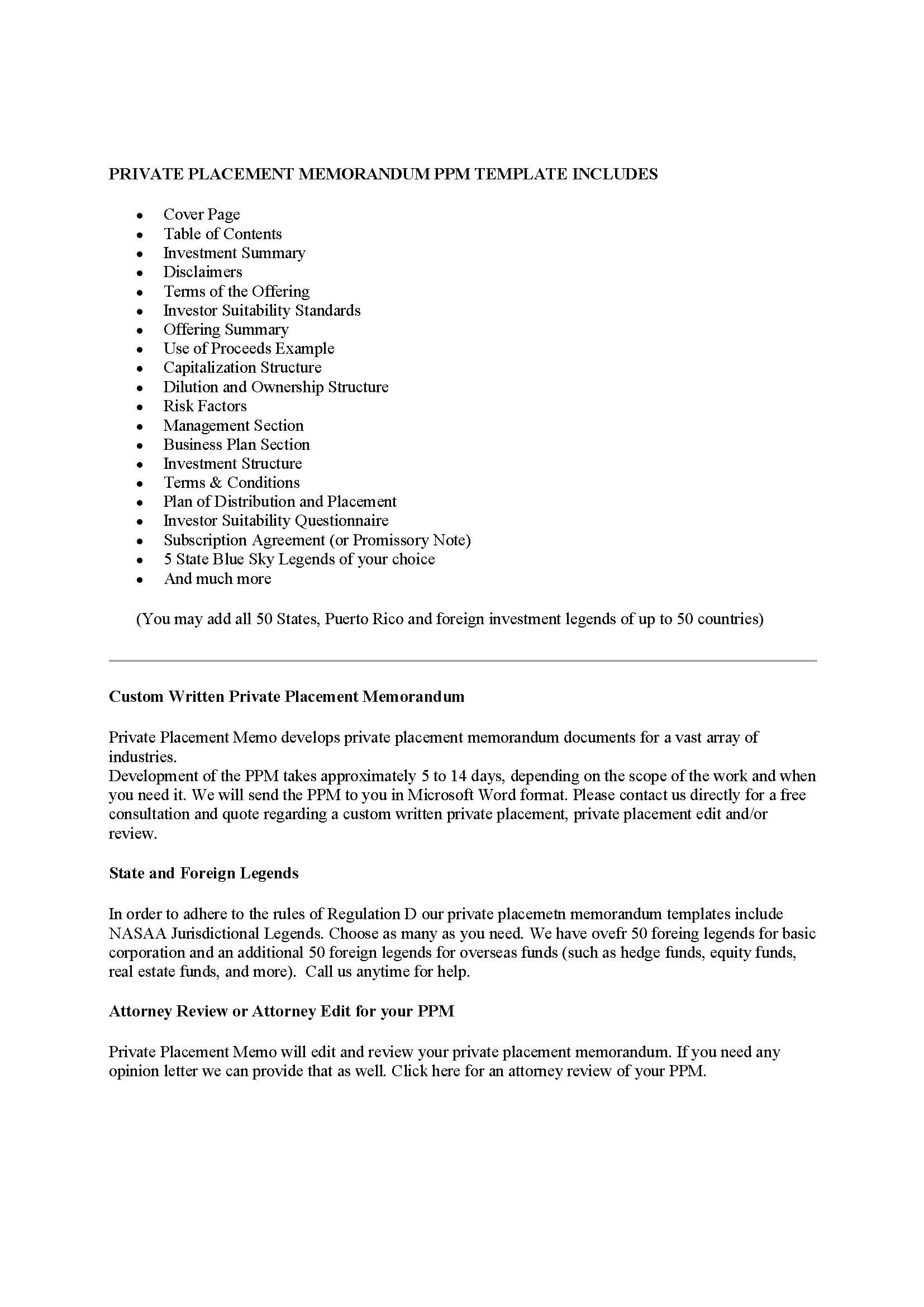 Private Equity Agreement Template