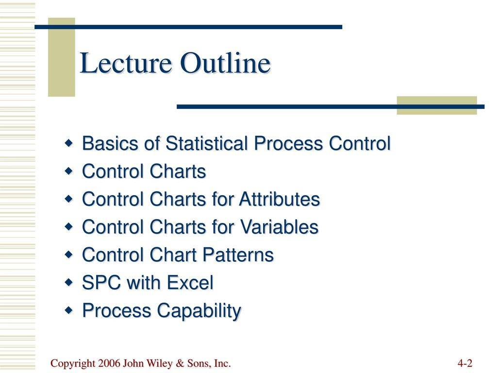 Process Control Chart Excel Template