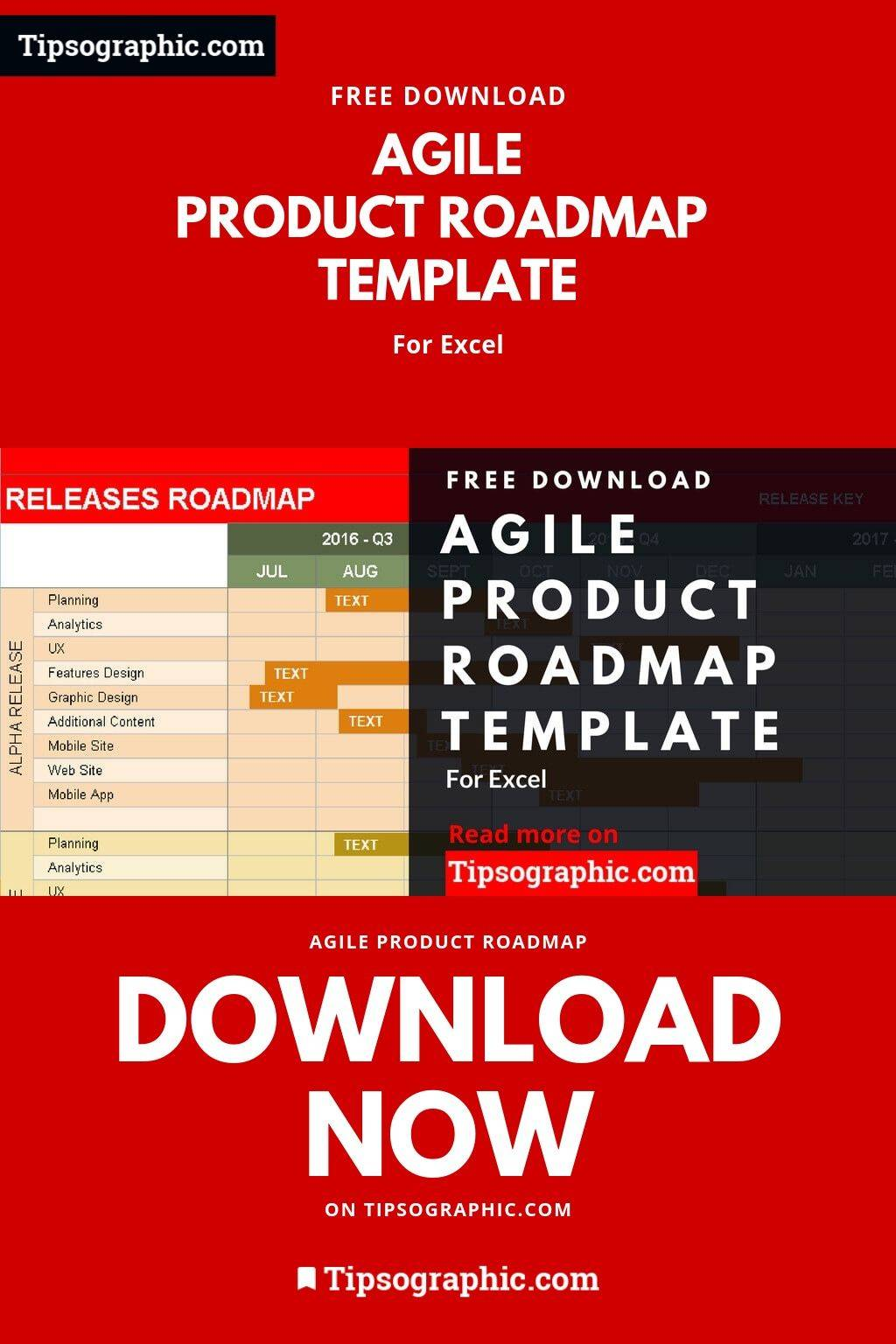 Product Roadmap Template Excel Free Download