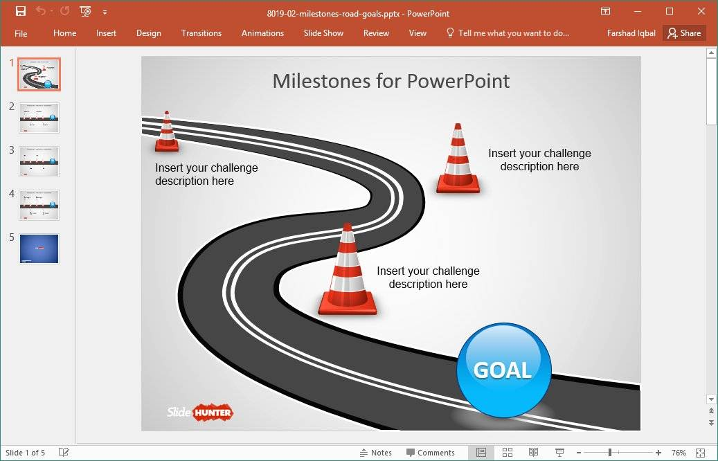 Product Roadmap Templates Powerpoint Download Free