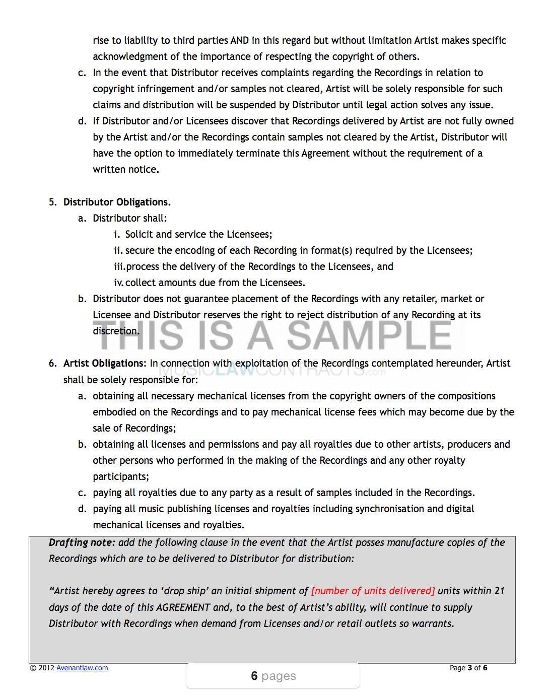 Product Royalty Agreement Template
