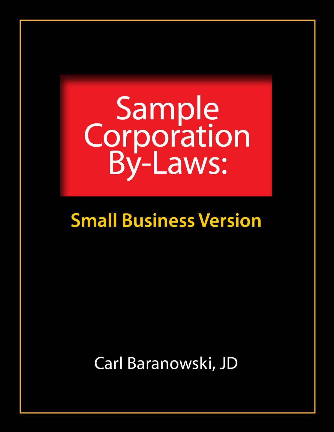 Professional Corporation Bylaws Template