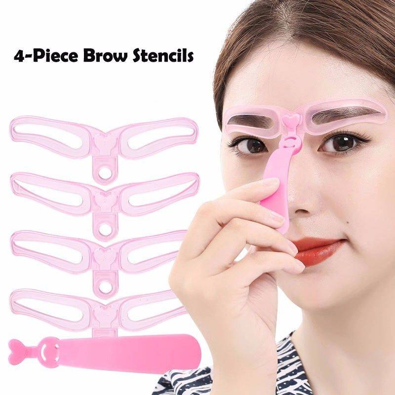 Professional Eyebrow Template Stencil Shaping Tool