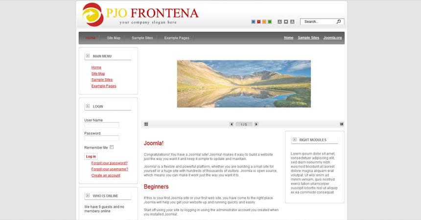 Professional Joomla 2.5 Templates Free Download