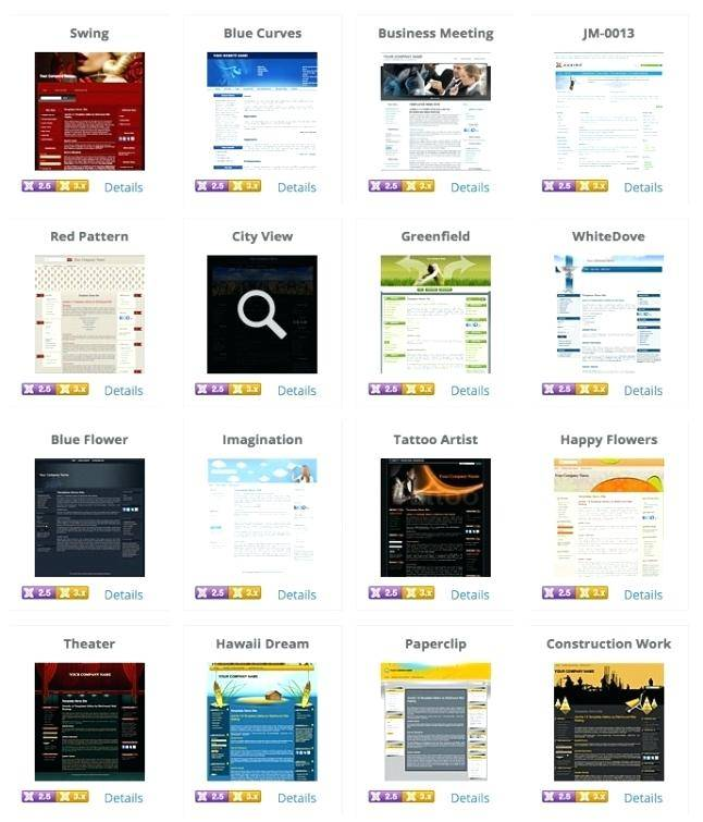 Professional Joomla 3 Templates Free Download