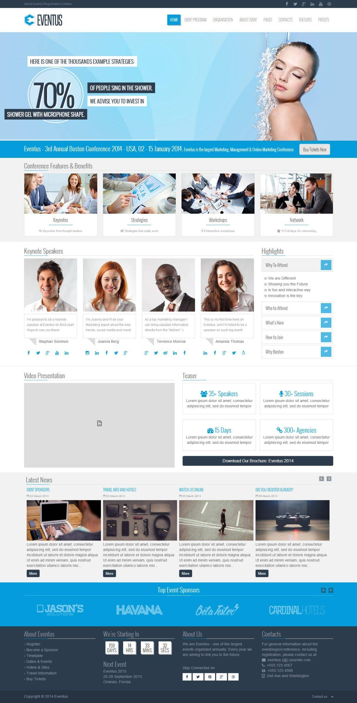 Professional Joomla Website Templates