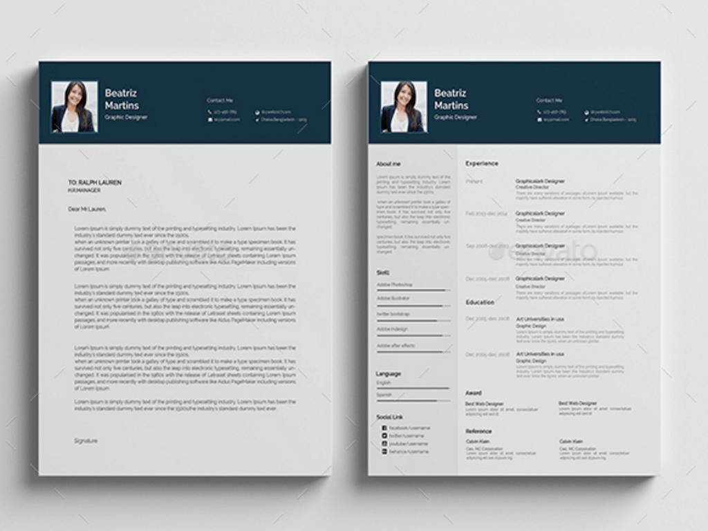 Professional Resume Template 2018 Free Download