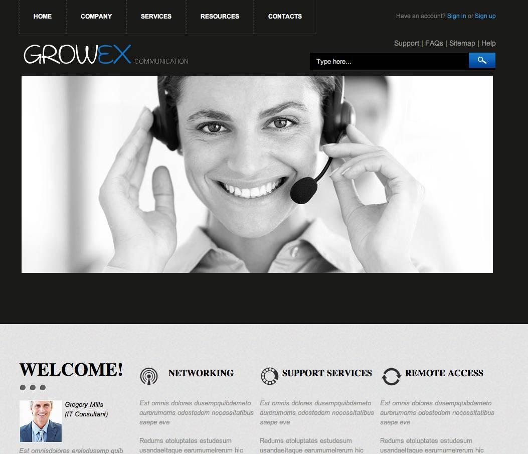 Professional Website Templates Dreamweaver