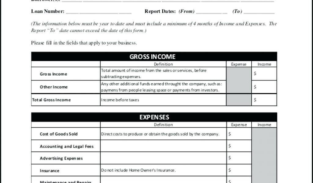 Profit And Loss Account Excel Format India