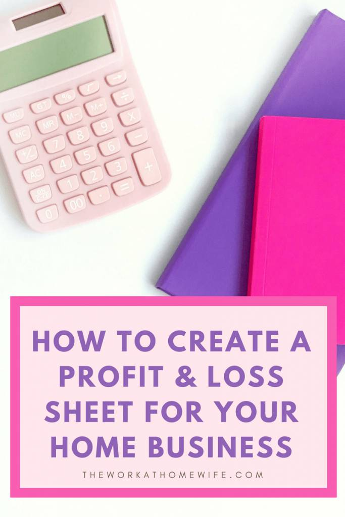 Profit And Loss Statement Form For Self Employed Homeowners