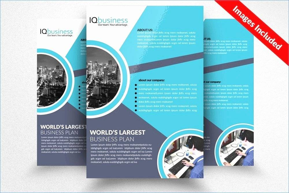 Programme Booklet Template