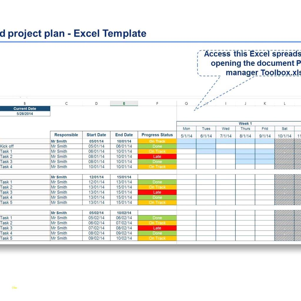 Project Capacity Planning Template Excel