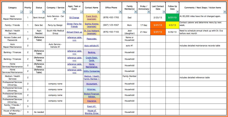 Project Management Excel Templates .xls