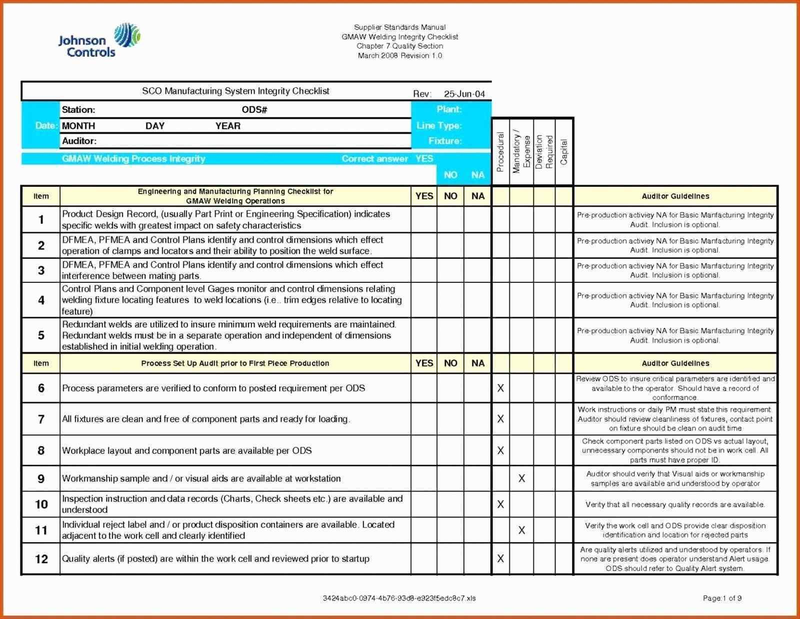 Project Management Raci Template