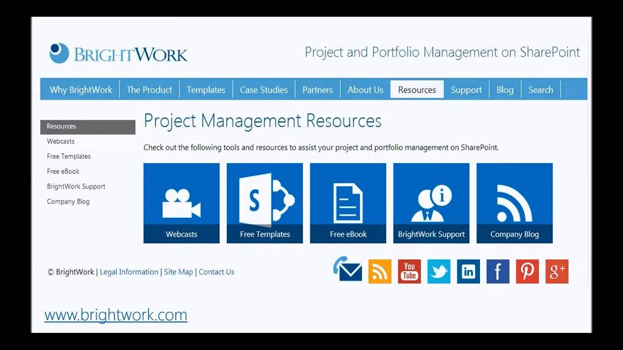 Project Management Sharepoint Template Free