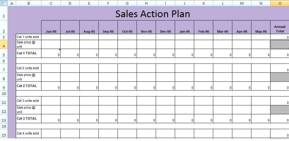 Project Plan Template Xlsx