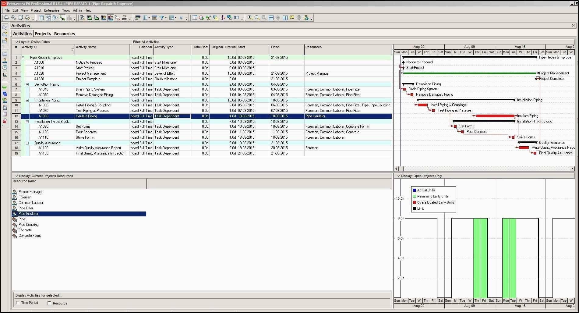 Project Portfolio Management Template Excel Free