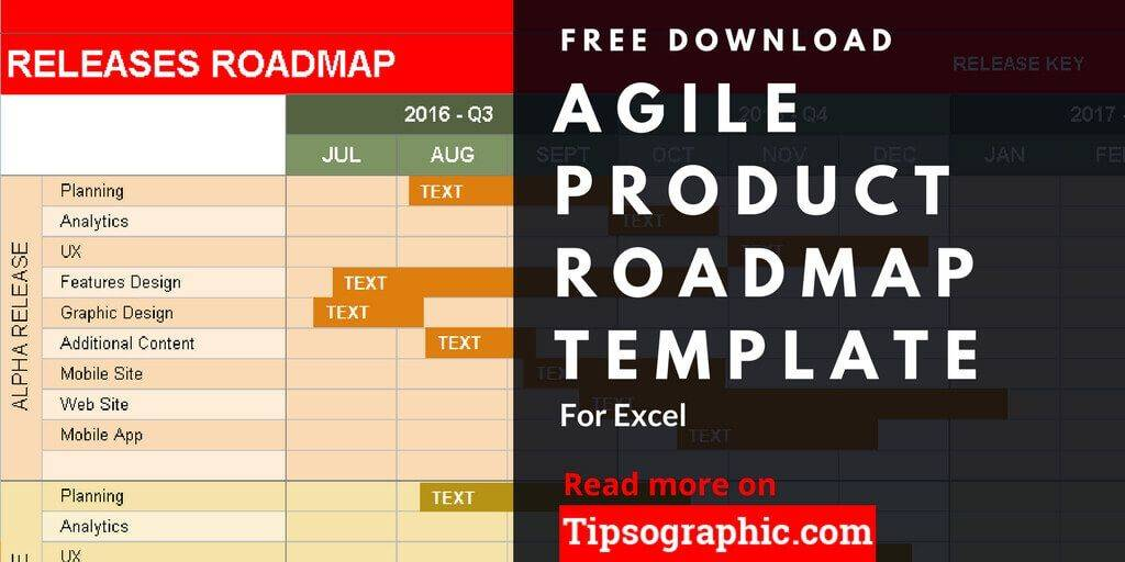 Project Roadmap Template Free Download