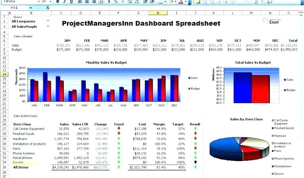 Project Tracker Excel Template Download