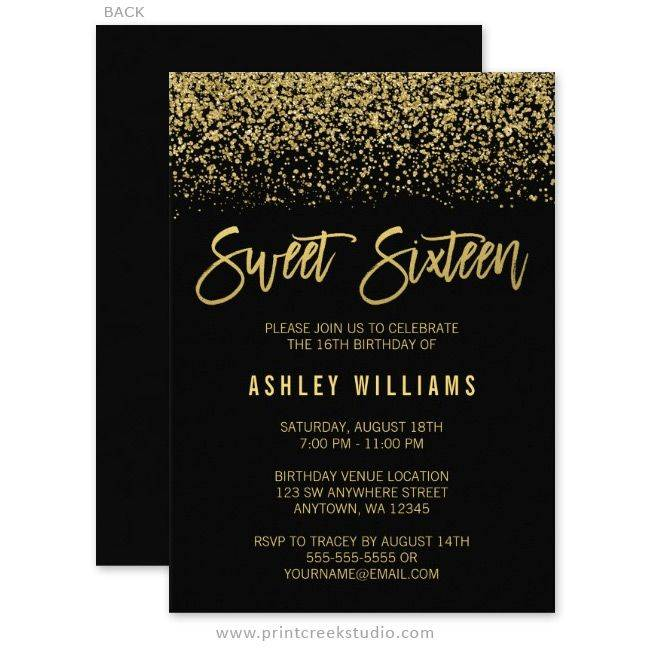 Prom Invitation Templates