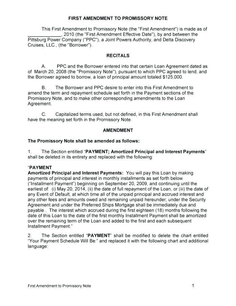 Promissory Note Format Pdf India