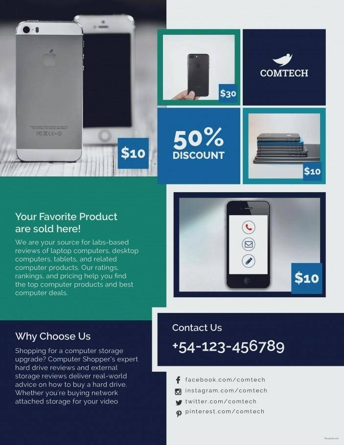 Promotional Brochure Layout