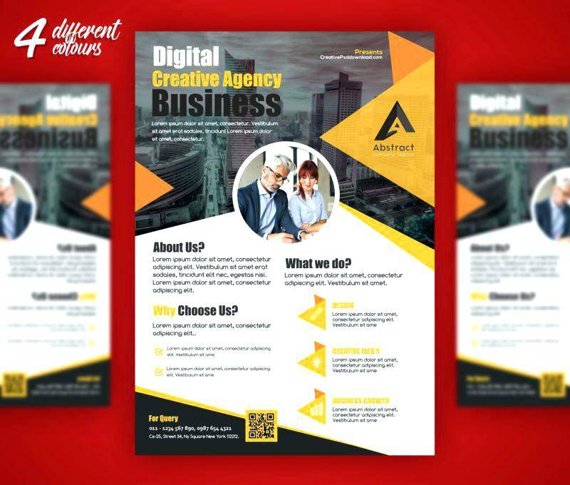 Promotional Flyer Templates Photoshop