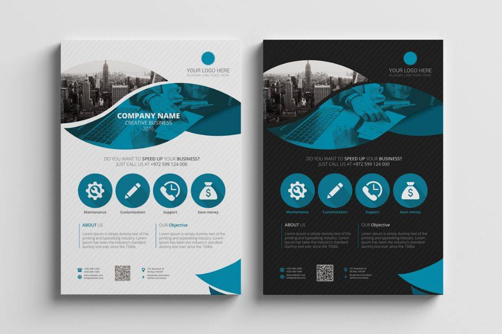 Promotional Flyers Template Free
