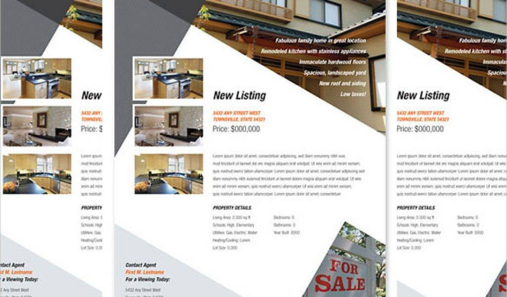 Property Brochure Template Word