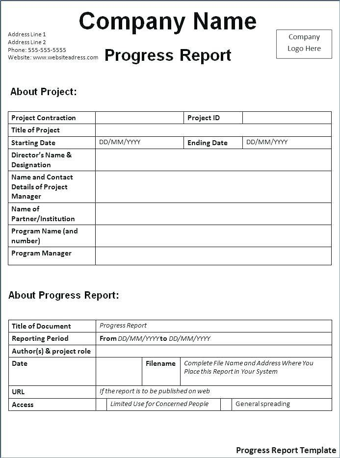 Property Condition Report Format