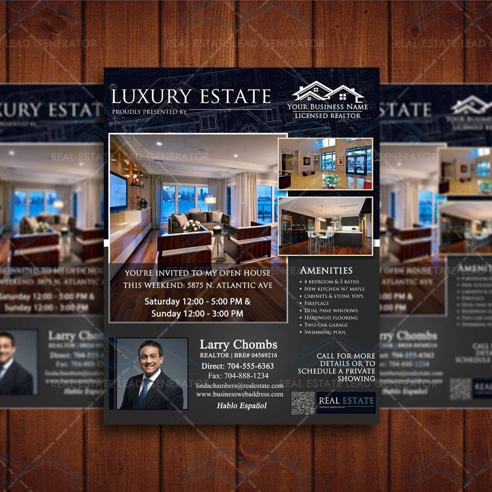 Property Listing Brochure Template