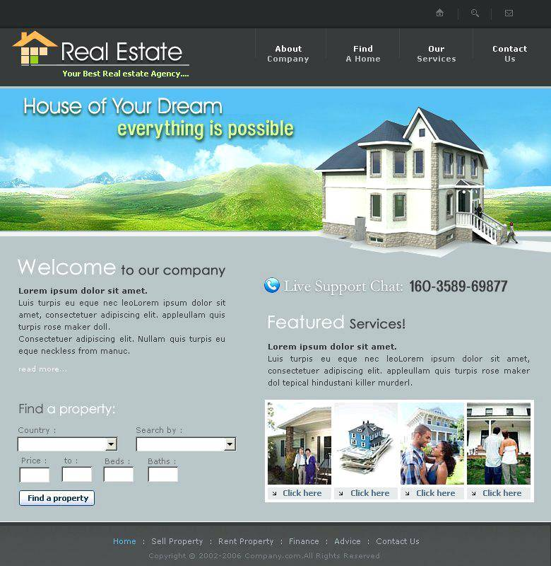 Property Maintenance Website Templates