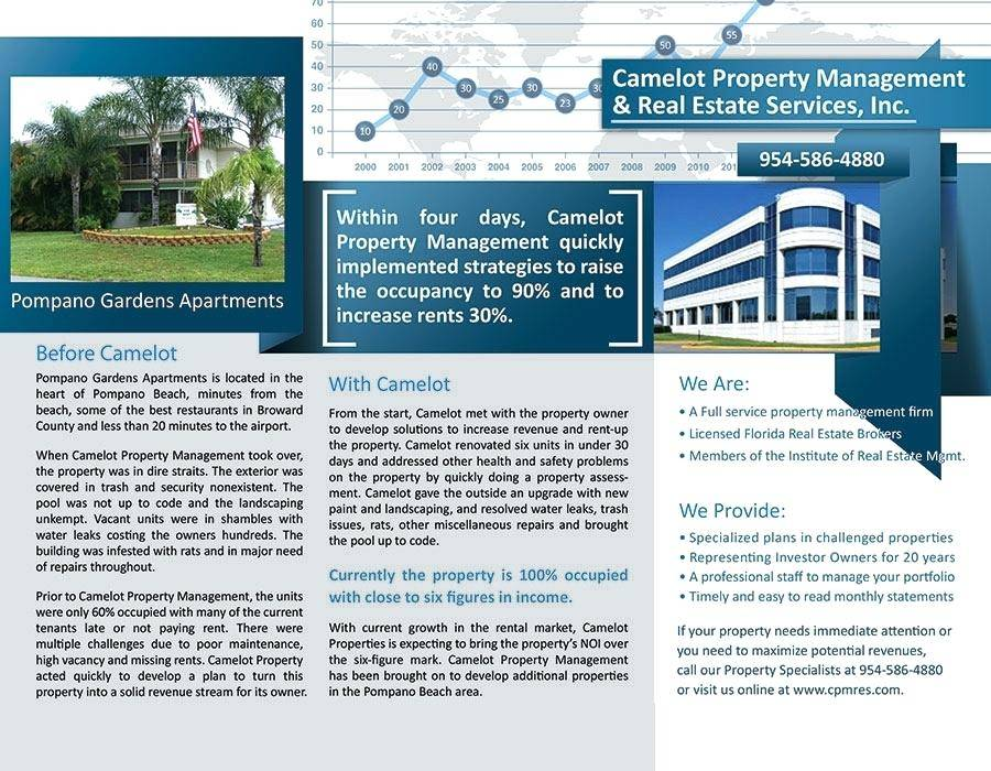 Property Management Brochure Templates
