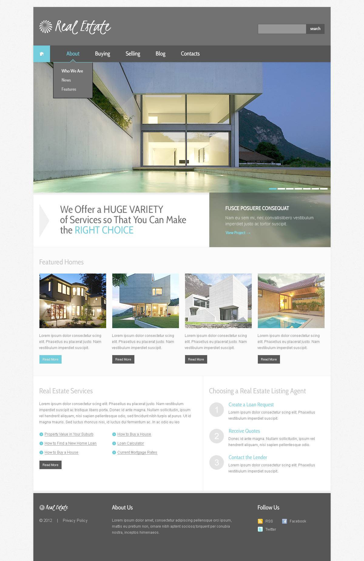 Property Management Websites Templates