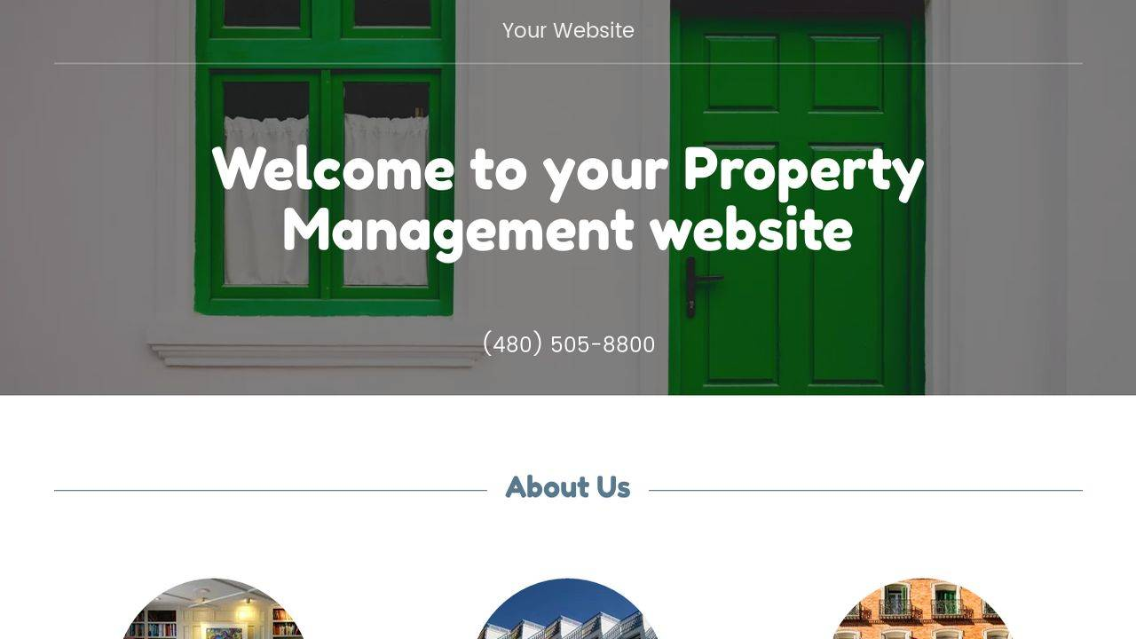 Property Website Templates