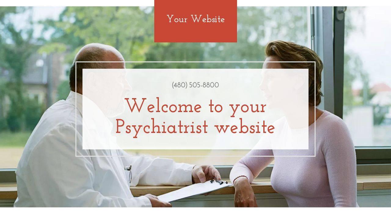 Psychiatrist Website Template