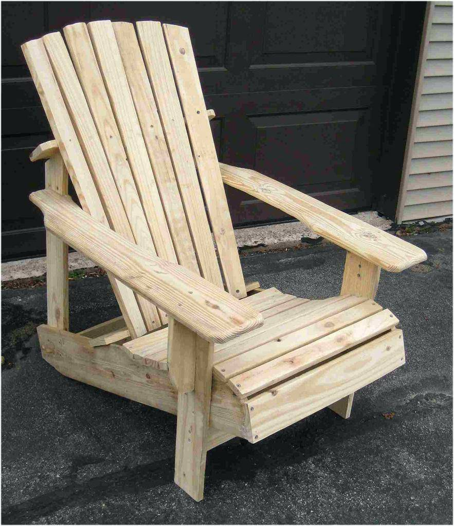 Punisher Adirondack Chair Template
